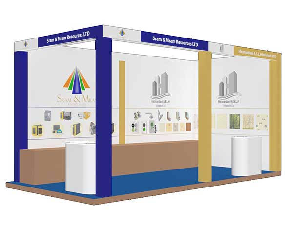 Exhibition Booth Sram & Mram