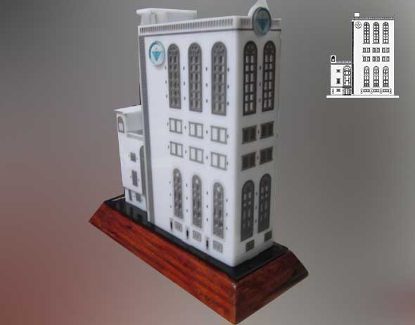 Scaled Building Model Chabad Cambodia