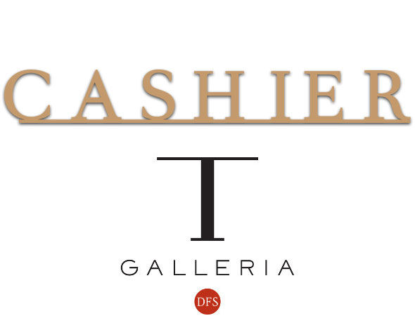 Cashier Sign |T-Galleria DFS Siem Reap