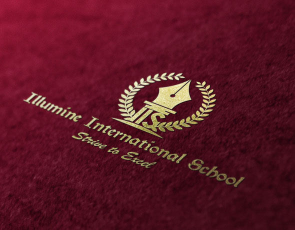Illumine Int. School Logo Design